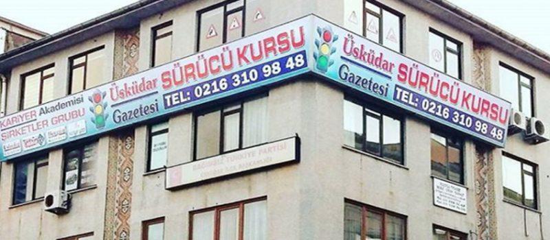 Üsküdar Gazetesi Sürücü Kursu Eğitim Binası