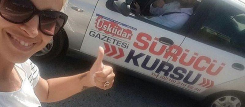 Üsküdar Gazetesi Sürücü Kursu Öğrencileri